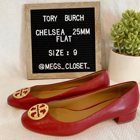f044f7a2792 NWT Tory Burch- Chelsea 25 MM Ballet Flat NWT